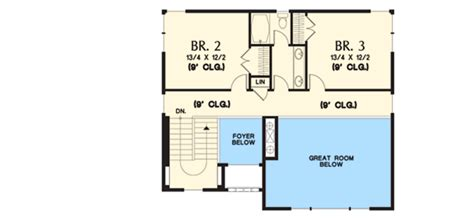 Uphill Slope House Plans Craftsman For Uphill Sloping Lot 69520am Architectural Designs House Plans