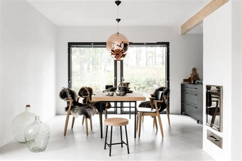 Designing Around Ceiling Fans 30 Scandinavian Dining Room Ideas Apartment Number 4
