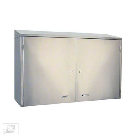 Metal Wall Cabinet by Glastender Wch36 36 Quot Stainless Steel Wall Cabinet
