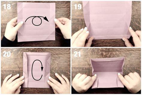 origami pencil box origami pencil box