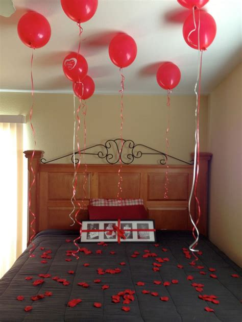 easy diy bedroom decoration for valentines day with