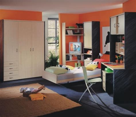 Cool Master Bedroom Ideas chambre ado orange photo 10 10 tr 232 s belles teintes