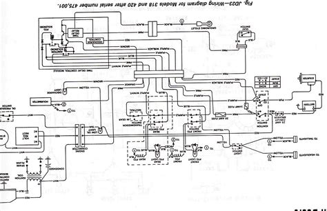 deere 318 parts wiring diagram get free image about