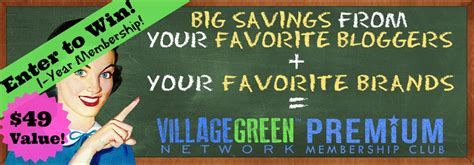 Premium Giveaways - winner 1 year membership to village green premium discount club 49 value butter
