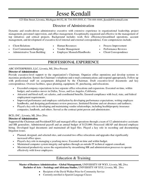 sle resume office administrator manager administration resume sales administration