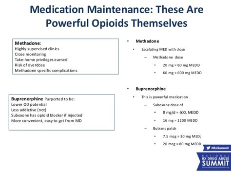 30 Day Methadone Detox In Southern Md by Rx15 Clinical Wed 1230 1 Moskowitz 2hall