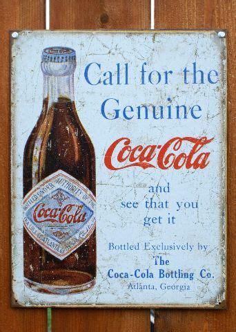 coca cola take one home soda pop vintage style metal tin coca cola atlanta georgia tin sign vintage styled