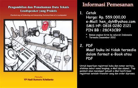 vidio tutorial adalah info buku pengambilan dan pemahaman data teknis sebuah