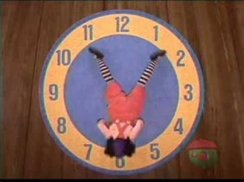 big comfy couch clock clock rug stretch 1995 the big comfy couch youtube