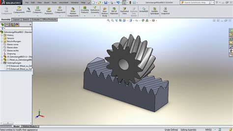 rack pinion solidworks cosmecol