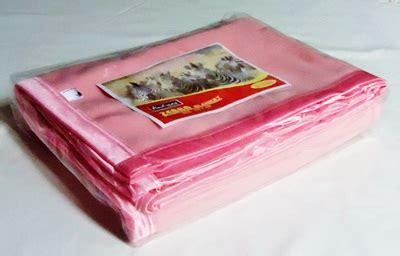 Selimut Polos Zebra Pink Polos Grosir Selimut Hotel Murah
