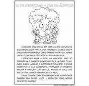 Textos Para O Dia Da &193rvore  Educa&231&227o Infantil Viver De