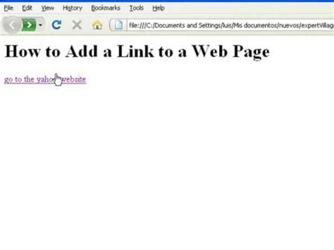 html tutorial how to insert image how to create web pages using html how to add a link to