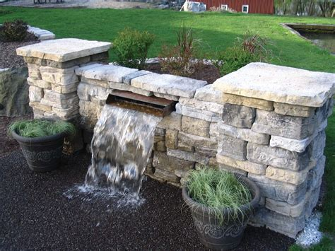 Backyard Waterfalls For Sale by Pondless Waterfall Kits For Sale Click On Above
