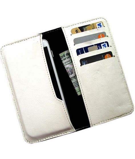 doodle leather combination ikitpit pu leather pouch cover for micromax doodle 3 a102