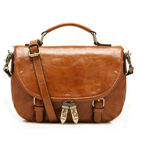 Best Quality Bag 2 lucky orange crossbody shoulder bag the best quality wholesale small brown soft leather with