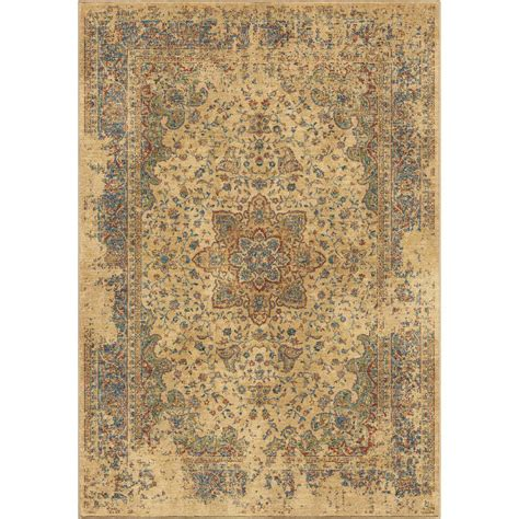 10 X 10 Area Rugs Orian Rugs Worn Traditional Beige 7 Ft 10 In X 10 Ft 10 In Area Rug 381788 The Home Depot