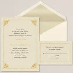 Simply elegant wedding invitation contemporary wedding invitations