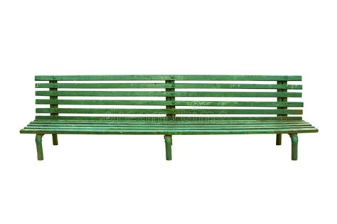 green bench definition green old park bench isolated on white stock image image