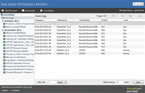 event viewer monitor user account activity in windows 8 free azure performance monitor tool