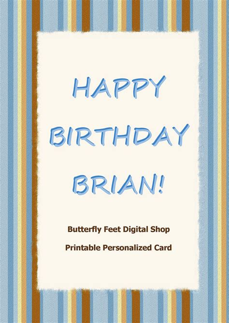 printable man card happy birthday cards to print for men www imgkid com