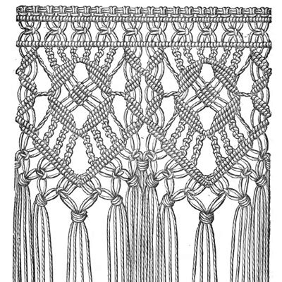 History Of Macrame - a macram 233 history marvel designs