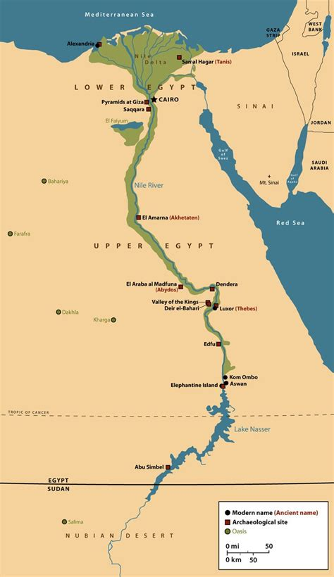 nile river on a map part i the nile river that flows through and
