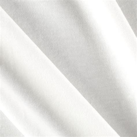 white cotton upholstery fabric kaufman laguna cotton jersey white discount designer