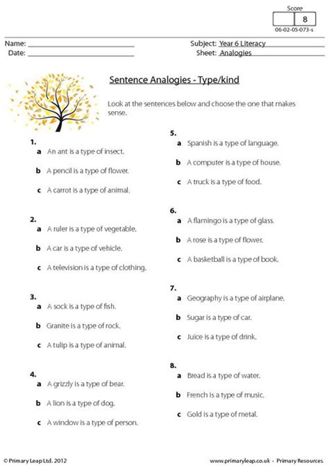 analogies worksheets images search
