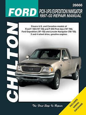 service repair manual free download 2010 ford expedition windshield wipe control chilton repair manual ford 1997 03 pickup 97 14 expedition navigator 26666 ebay