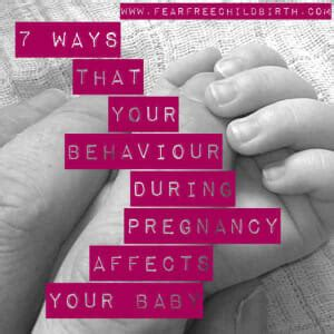 7 Ways In Which Affects Your by 7 Ways That Behaviour During Pregnancy Affects Your Baby