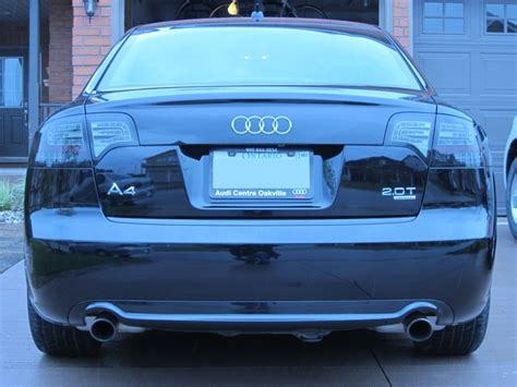 audi b7 tail lights a4 b7 led tail lights by dectane audi forum audi