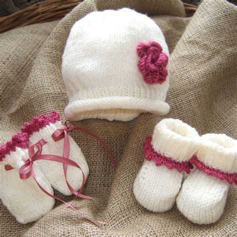knitting beanie knitted baby beanie mittens and bootees knitting