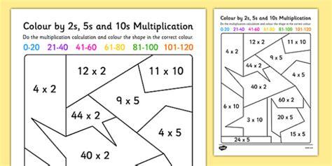 2s Multiplication Worksheets