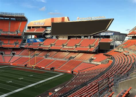 dawg pound sections firstenergy stadium