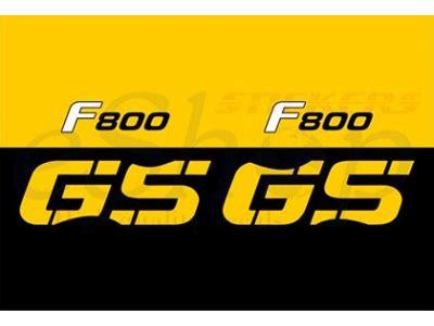 Aufkleber Bmw F 800 Gs by Bmw F800 Gs 2008 Set Eshop Stickers