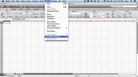 tutorial excel mac 2008 data analysis toolpak for excel 2008 mac resumes exles