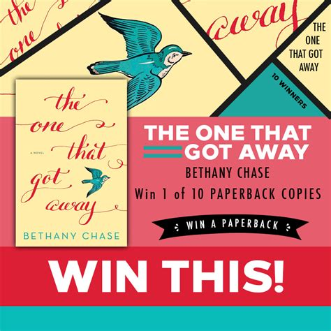 the one that got away a novel book review the one that got away by bethany