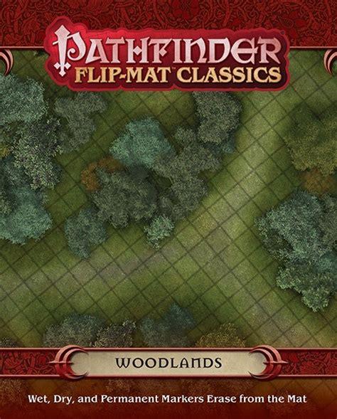 starfinder flip mat starship books paizo pathfinder flip mat classics woodlands