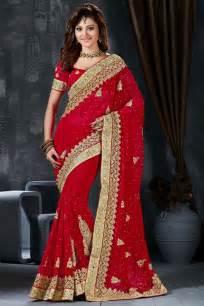 Celebrity inspired sarees collection urvashi rautela red wedding