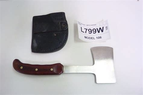 buck hatchet buck hatchet with leather cover