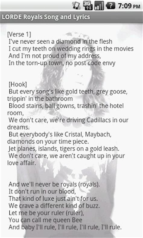 printable lyrics to royals blog archives lemvedown