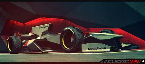 mclaren f1 concept futuristic mclaren formula 1 concept carscoops