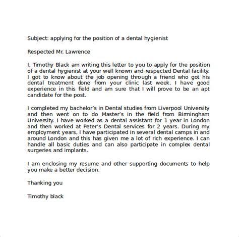 resume cover letter dental hygienist   Worksheet