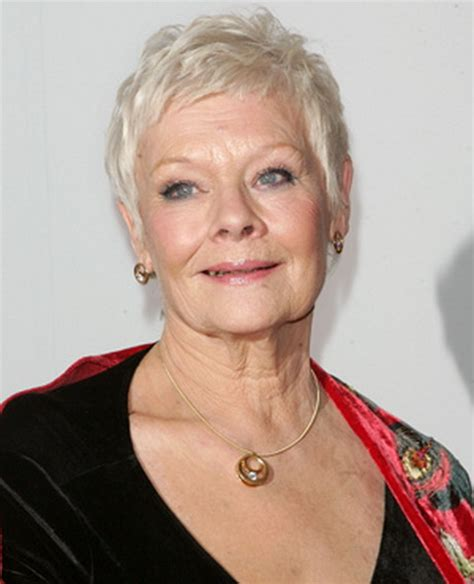 judith dench haircut judi dench hairstyle instructions hairstylegalleries com