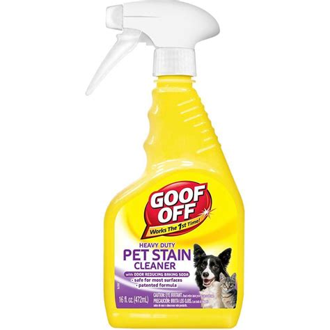 amazon cleaning products goof off cleaning products 16 oz pet stain cleaner spray