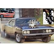 Fast And Furious 1 DODGE CHARGER 1970  Racing Paper Models
