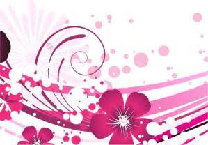 pink flower vector background free vector graphics all