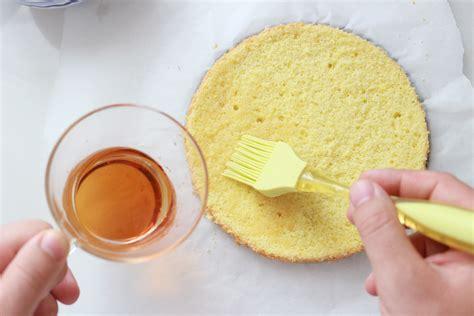 come bagnare il pan di spagna al cioccolato latte mandorle alchimia