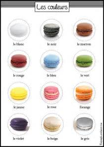 how do you say colors in colors in les couleurs en fran 231 ais macarons